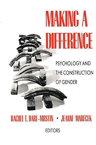 9780300052220: Making a Difference: Psychology and the Construction of Gender