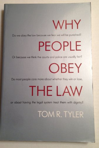 9780300052350: Why People Obey the Law