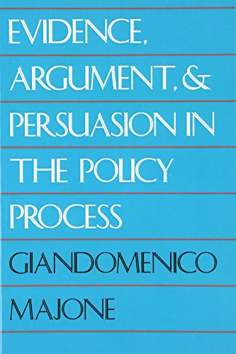 9780300052596: Evidence, Argument and Persuasion in the Policy Process