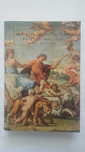 9780300053081: Art and Architecture in Italy: 1600-1750 (Pelican History of Art)