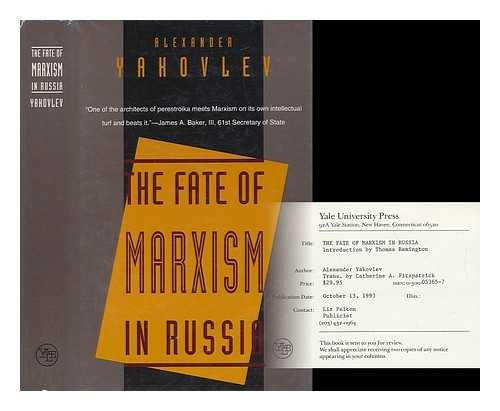 THE FATE OF MARXISM IN RUSSIA.