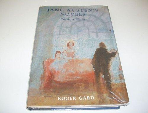 9780300054941: Jane Austen's Novels: The Art of Clarity