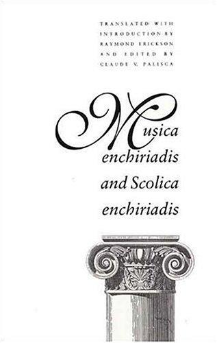 9780300058185: Musica Enchiriadis (Yale Music Theory Translation Series)