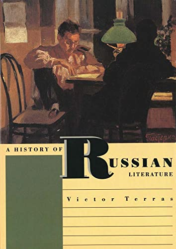 9780300059342: A History of Russian Literature