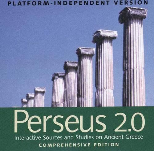 Perseus 2.0: Interactive Sources and Studies on: Professor Gregory Crane