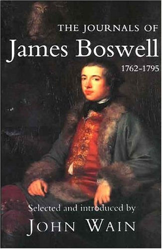 9780300060744: The Journals of James Boswell: 1762-1795