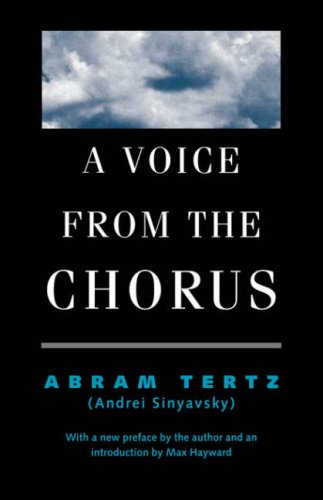 9780300061192: A Voice from the Chorus