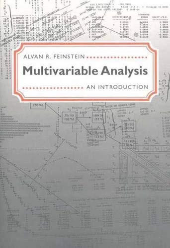 9780300062991: Multivariable Analysis: An Introduction