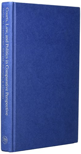 9780300063783: Courts, Law, and Politics in Comparative Perspective