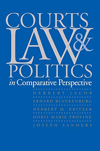 9780300063790: Courts, Law, and Politics in Comparative Perspective