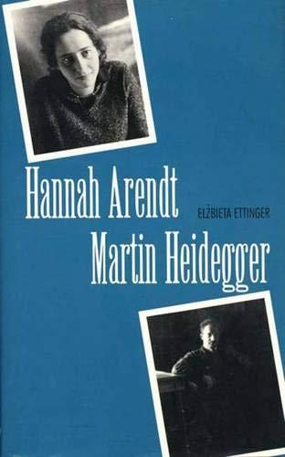 9780300064070: Hannah Arendt/Martin Heidegger