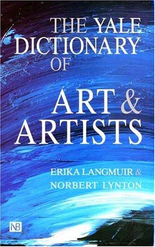 The Yale Dictionary of Art and Artists: Erika Langmuir, Norbert