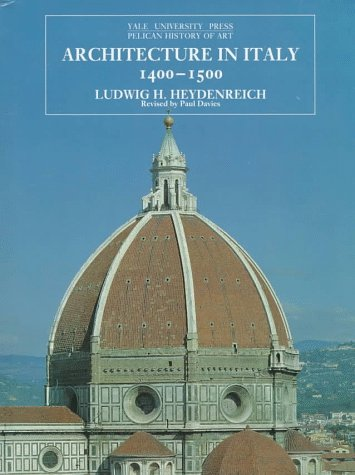 9780300064667: Architecture in Italy, 1400-1500