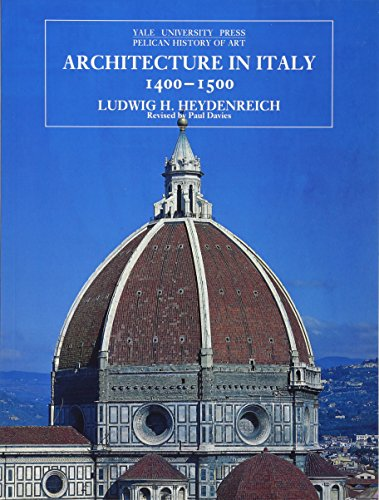 9780300064674: Architecture in Italy, 1400-1500