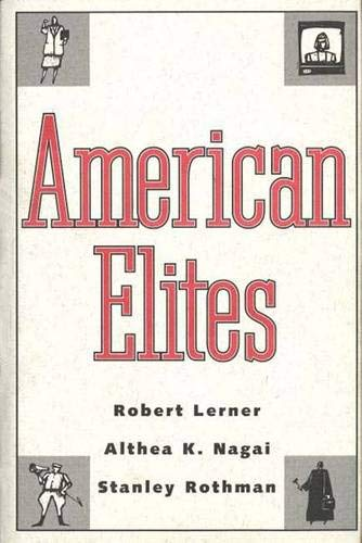 American Elites: Robert Lerner, Althea