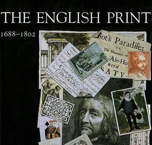 9780300066500: The English Print, 1688-1802 (Paul Mellon Centre for Studies in Britis)