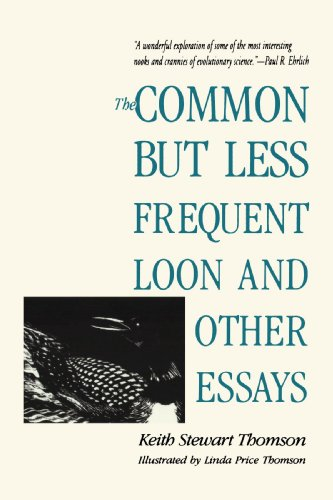 9780300066548: The Common but Less Frequent Loon and Other Essays