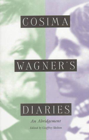 9780300069044: Cosima Wagner's Diaries: An Abridgement
