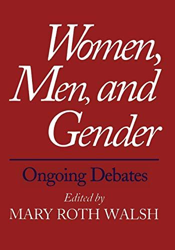 9780300069389: Women, Men, and Gender: Ongoing Debates