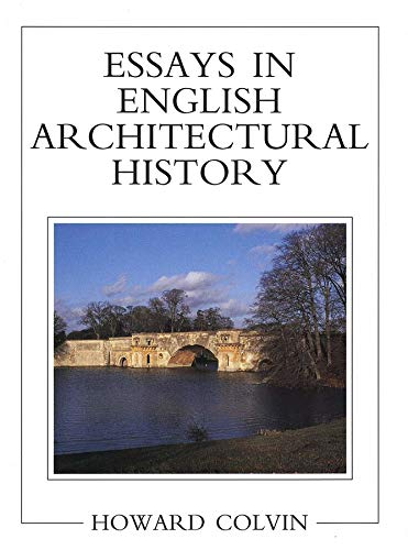 9780300070347: Essays in English Architectural History (The Paul Mellon Centre for Studies in British Art)