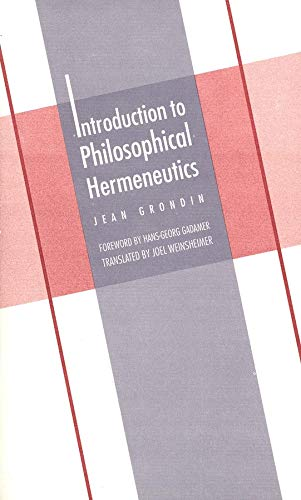 9780300070897: Introduction To Philosophical Hermeneutics (Yale Studies in Hermeneutics)