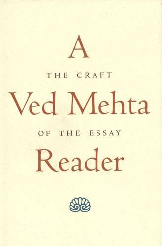 9780300071894: A Ved Mehta Reader: The Craft of the Essay