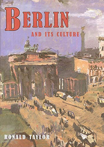 9780300072006: Berlin and Its Culture: A Historical Portrait