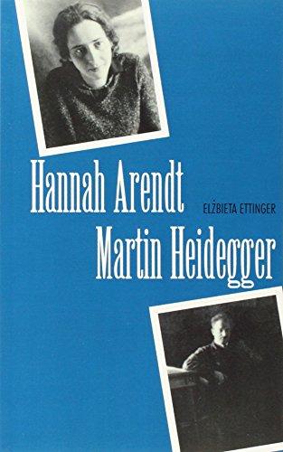 9780300072549: Hannah Arendt/Martin Heidegger