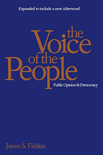 9780300072556: The Voice of the People: Public Opinion and Democracy