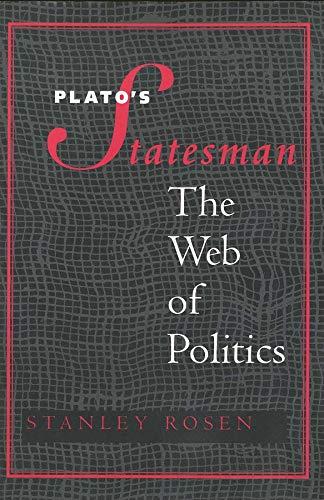 "9780300072815: Plato's ""Statesman"": The Web of Politics"