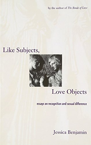 9780300074307: Like Subjects, Love Objects: Essays on Recognition and Sexual Difference