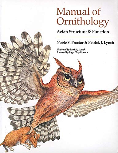 9780300076196: Manual of Ornithology: Avian Structure & Function