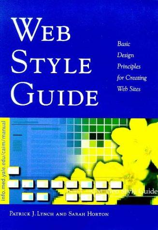 Web Style Guide: Basic Design Principles for: Mr. Patrick J.