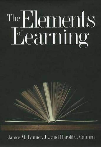 9780300078367: The Elements of Learning