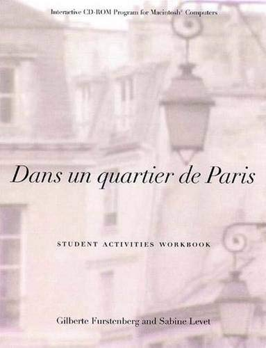 9780300078503: Dans Un Quartier De Paris: An Interactive Documentary CD-ROM for Macintosh Computers: Student Activities Workbook