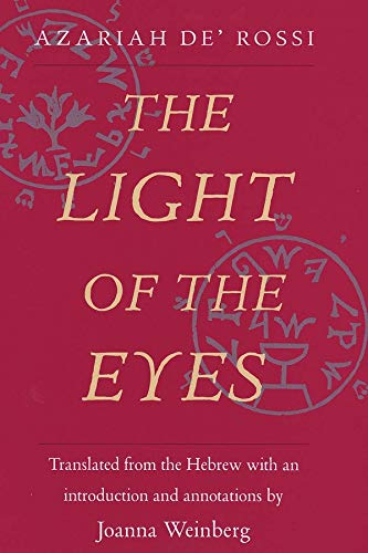 9780300079067: The Light of the Eyes (Yale Judaica Series)
