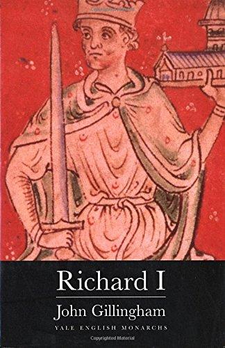 9780300079128: Richard I (The English Monarchs Series)