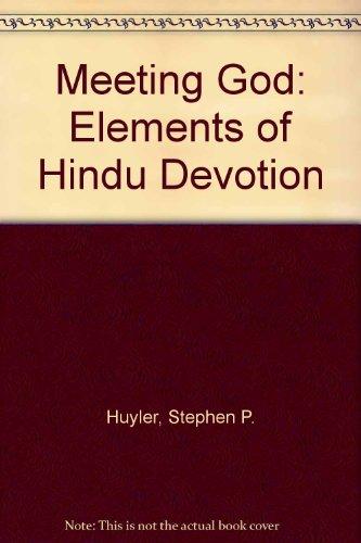 9780300079845: Meeting God. Elements of Hindu Devotion