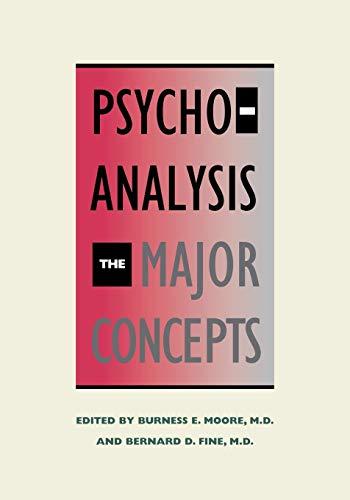 9780300080780: Psychoanalysis: The Major Concepts