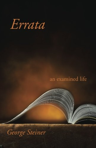 9780300080957: Errata: An Examined Life