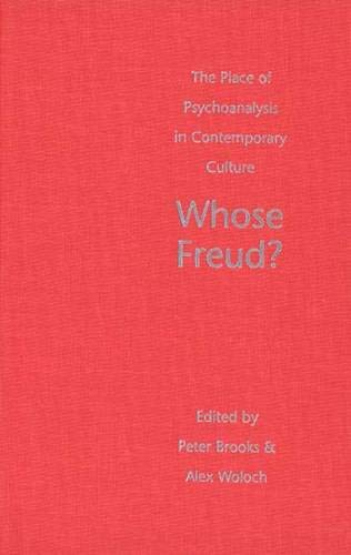 9780300081169: Whose Freud?: The Place of Psychoanalysis in Contemporary Culture
