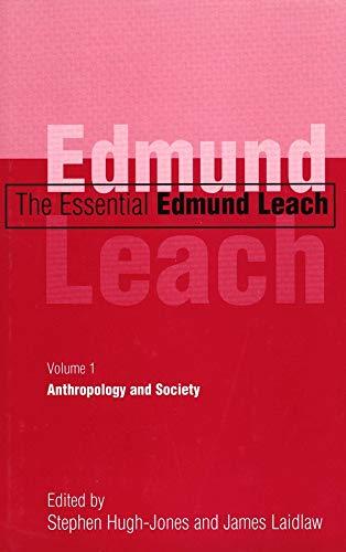 9780300081244: The Essential Edmund Leach V 1 - Anthropology & Society