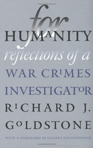 For Humanity. Reflections of a War Crimes Investigator