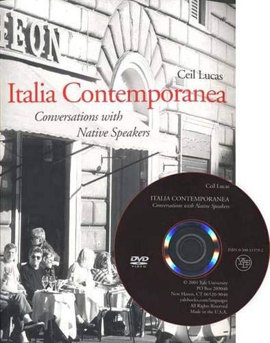 9780300083026: Italia Contemporanea: Conversations with Native Speakers (Yale Language Series)
