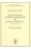 9780300083064: The General Correspondence of James Boswell, 1757-1763