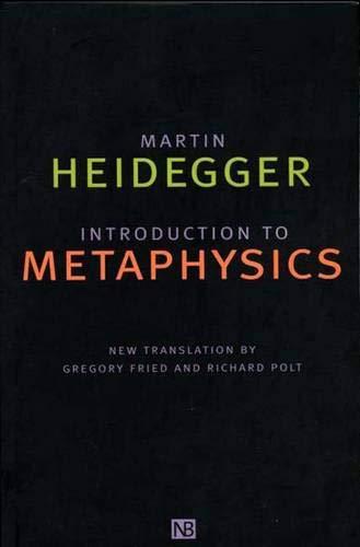 9780300083286: Introduction to Metaphysics (Yale Nota Bene)