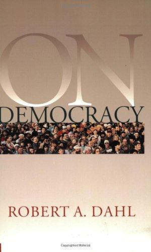 9780300084559: On Democracy (Yale Nota Bene)