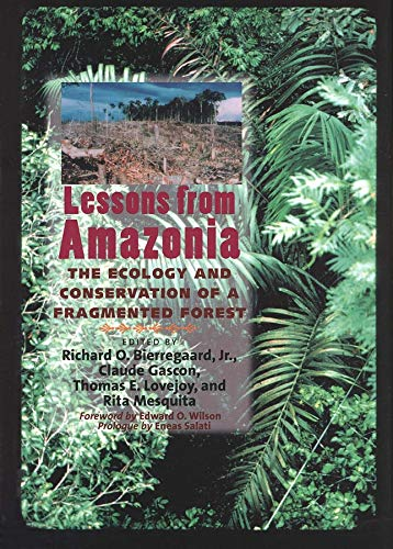 Lessons from Amazonia: The Ecology and Conservation of a Fragmented Forest (Hardback)