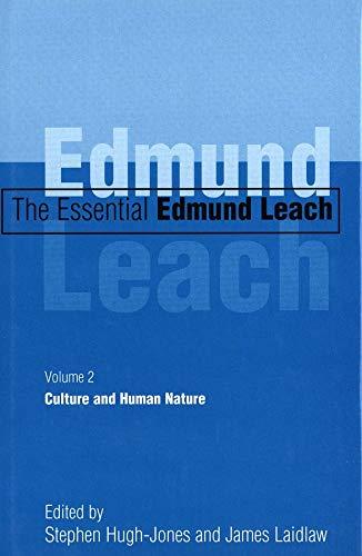 9780300085082: The Essential Edmund Leach: Volume 2: Culture and Human Nature: Culture and Human Nature v. 2