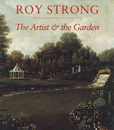 THE ARTIST AND THE GARDEN. (SIGNED)